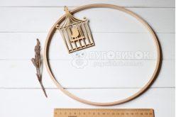 Кольцо деревянное для мобиля 26 см Nurge