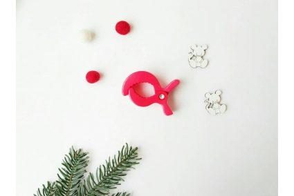 Клипса-краб для игрушки