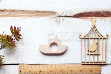 """Грызунок деревянный """"Кораблик"""""""