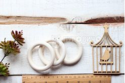 Кільце дерев'яне 68 мм