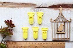 Кліпса-тримач пластикова для соски, іграшки 45*30мм в