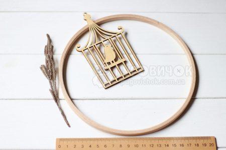 Кільце дерев'яне для мобілю 19 см Nurge