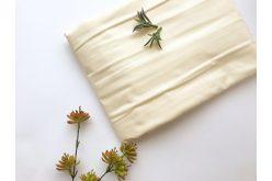 Ткань польская однотонная кремовая