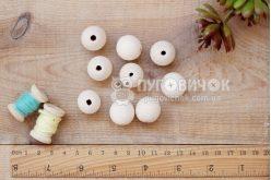 Бусина шар яворовая 20 мм
