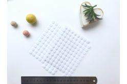 Липучка кругла 10мм біла(1+1)