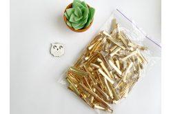 Заготовка для заколки прямая 4,1см золотая