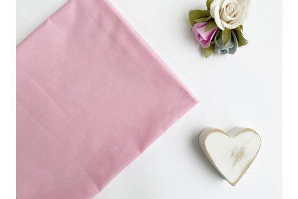 Тканина польська однотонна рожева