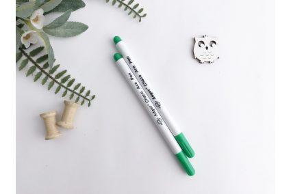 Маркер для тканини (змивається) зелений