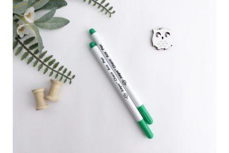 Маркер для ткани (смывающийся) зеленый