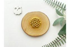 Бусина 06 мм. золото (10гр.) упак