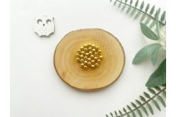 Намистина 06 мм. золото (10гр.) упак