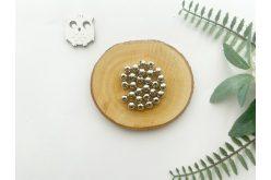 Намистина 08 мм. срібло (10гр.) упак